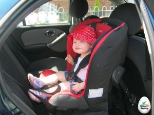 A gyerekülés biztonságot ad