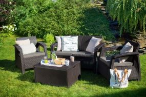 műrattan kerti bútor